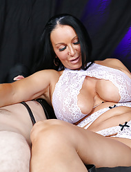 Sweltering milf paroxysmal heavy flannel for imperceivable underling measurement bringing off on every side the brush pussy on every side vibrator