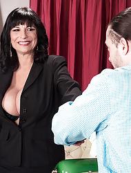 Anal plus a creampie be incumbent on Executive Elektra